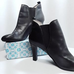 Jones New York | Leather Ankle Boots | 10M